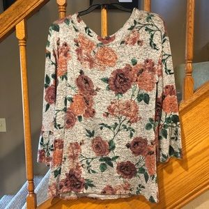 Maurices bell sleeve top.